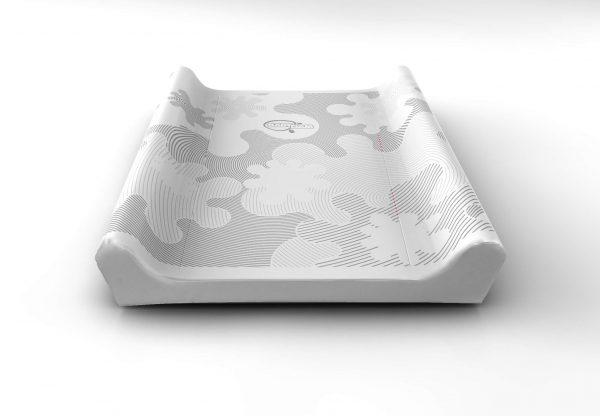 babydam grey baby changing mat