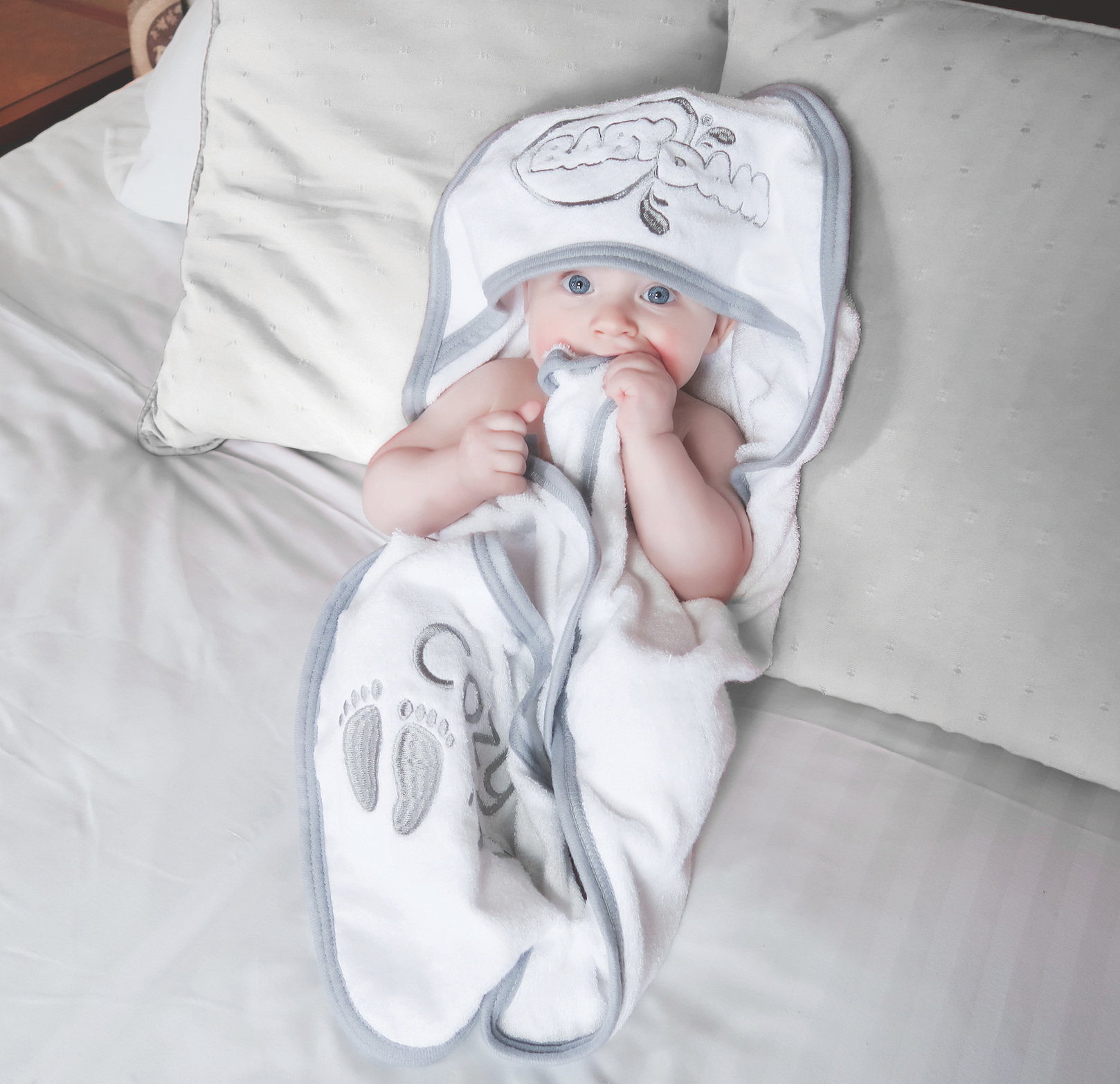 baby bath hooded towel