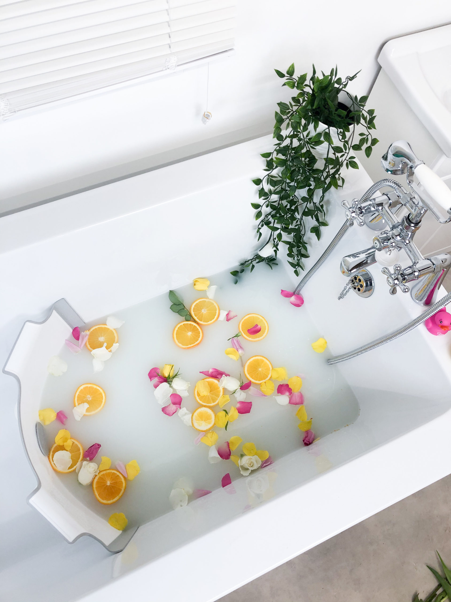 How To Create A Milk Bath For Baby